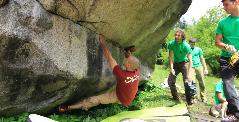 Boulder Val di Daone